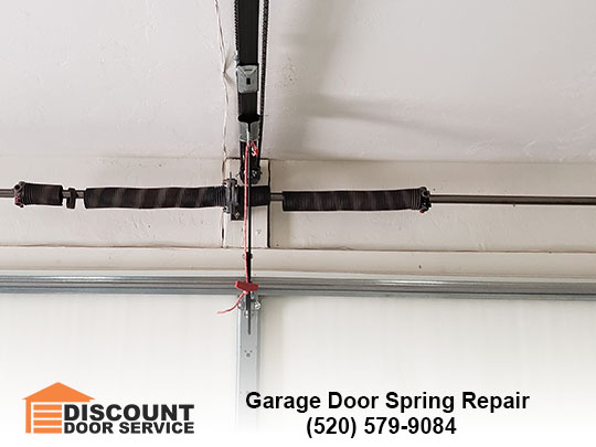 Garage Door Spring Repair by Discount Door Service in Tucson, AZ