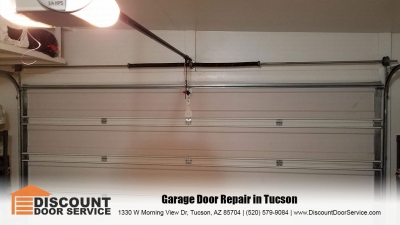 garage door installations and repair in Tucson by Discount Door Service
